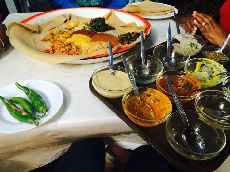 Restaurants in Addis Ababa: Vegan Food