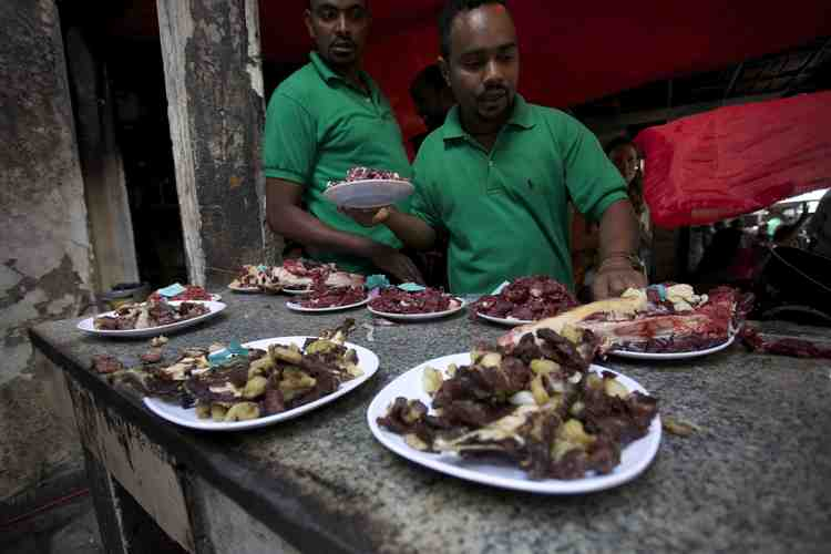 Ethiopian Meat Dishes